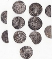Metal Detector Finds - Henry III Hammered Coins